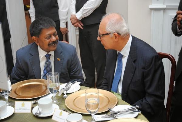 Ambassador Wickramasuriya with MAS Holding Chairman